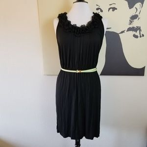 Dresses & Skirts - 2/$20 🌟 Ruffle Neckline Sleeveless Dress L/XL